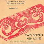 Aldermaston Court Dramatic Society (1950/60s)
