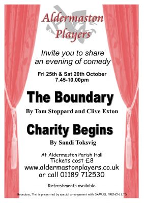 Charity begins & The Boundary