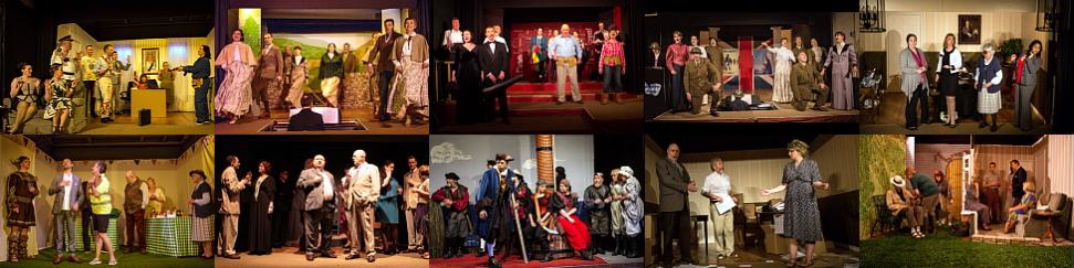 Past 8 shows of Aldermaston Players