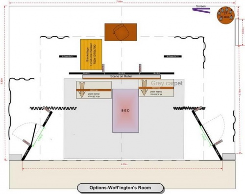 Stage plan-Options-Woff'ington's Room