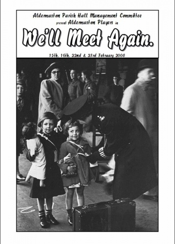 2008 Well Meet Again Program Cover