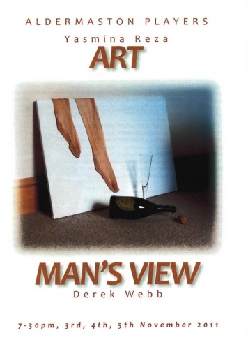 2011 ART MANS VIEW Programme Cover