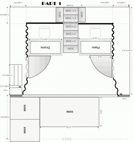Stage Layout- plan 1